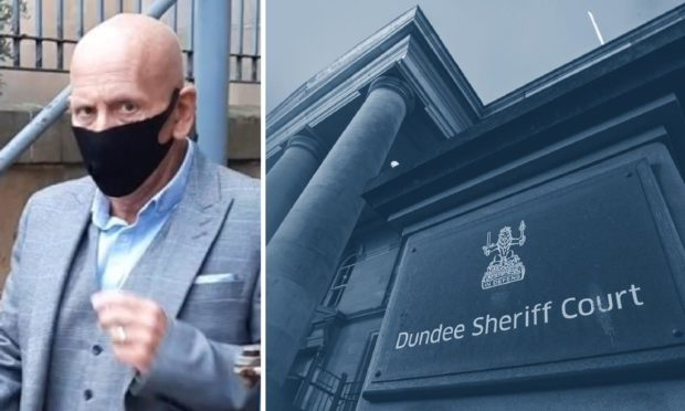 Stephen Keen appeared at Dundee Sheriff Court