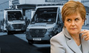 Nicola Sturgeon has called in the army to alleviate pressure on the Scottish Ambulance Service.