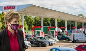 Nicola Sturgeon discussed the fuel situation earlier this week.
