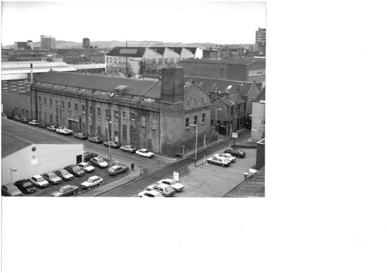 Verdant Works in 1991, when the jute mills of Dundee had shut.
