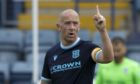 Dundee skipper Charlie Adam is back in training.