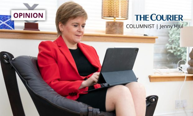 Jenny says the goal of Sturgeon to have an independence referendum in 2023 is another area where she is out of touch with voters.