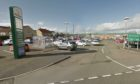 The assault happened in the Cowdenbeath Morrisons