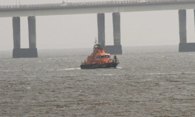 The Broughty Ferry Lifeboat on the Tay (library image).