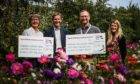 Staff at Ninewells Hospital are set to benefit from more than £130,000 of funding