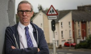 Councillor Fraser Macpherson fears children will be put in danger crossing the road without a patroller in Dundee's West End.