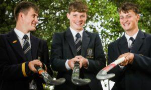 Lewis McGregor, David Lidstone and Jake Swan.