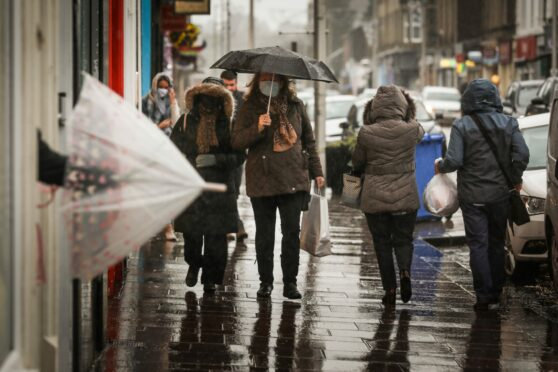 Weather scotland