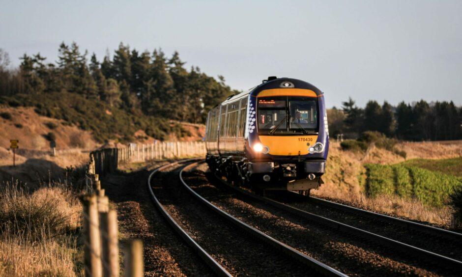 ScotRail trains between Edinburgh and Fife