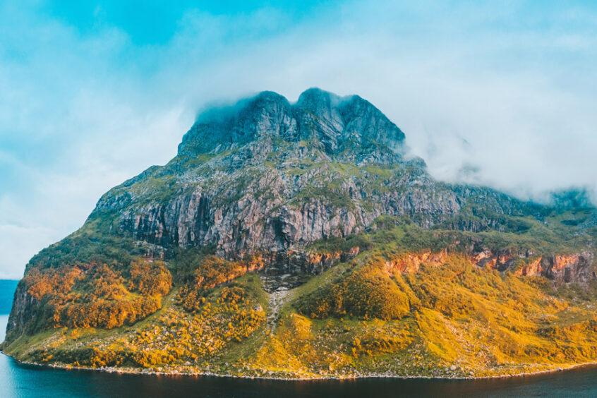 Hornelen Sea Cliff