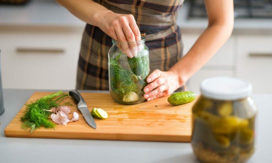 Cucumber pickle.