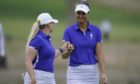 Anna Nordqvist and Matilda Castren won the first point for Europe.