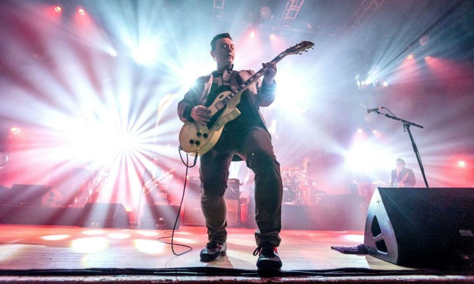 Manic Street Preachers will be returning to Dundee later this month.