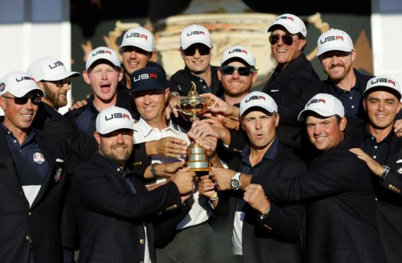 The US won in Hazeltine in 2016. With one wild exception, recent Ryder Cups have gone with the home team.