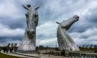 The Kelpies have become internationally renowned since being unveiled in 2013.