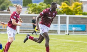 Arbroath's on-loan Livingston ace Joel Nouble lands Championship player of the month award