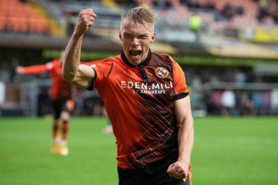 Ilmari Niskanen got off the mark for Dundee United against Ross County.