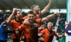 Tony Asghar watched Dundee United climb into third with the win over Hibernian