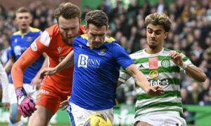 Craig Bryson in the thick of the action.