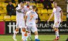 Peter Pawlett drew Dundee United level at Livingston