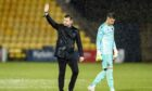 Tam Courts hailed the Dundee United fans after the Livingston draw