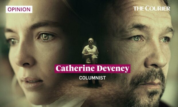 Jodie Comer and Stephen Graham in the care home drama Help.