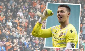 Benjamin Siegrist hails thousands-strong army of Livingston-bound Dundee United fans for helping rouse Tannadice sleeping giant
