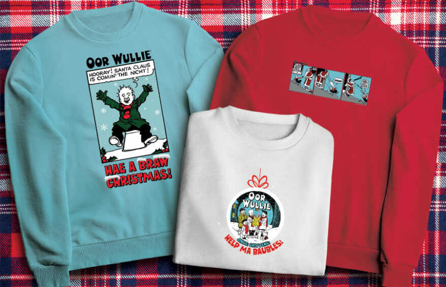 The Broons and Oor Wullie Jumpers