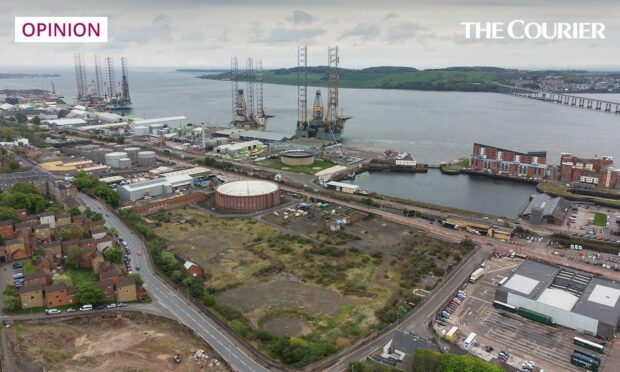 The proposed site for Eden Project Dundee.