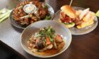Some of the dishes at Roo's Leap.