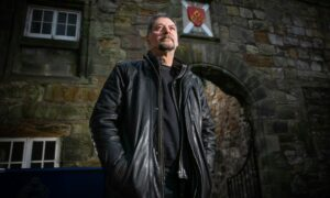 St Andrews ghost author and historian Richard Falconer