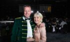 Stephen Leckie, Crieff Hydro chief executive, with his wife Fiona.