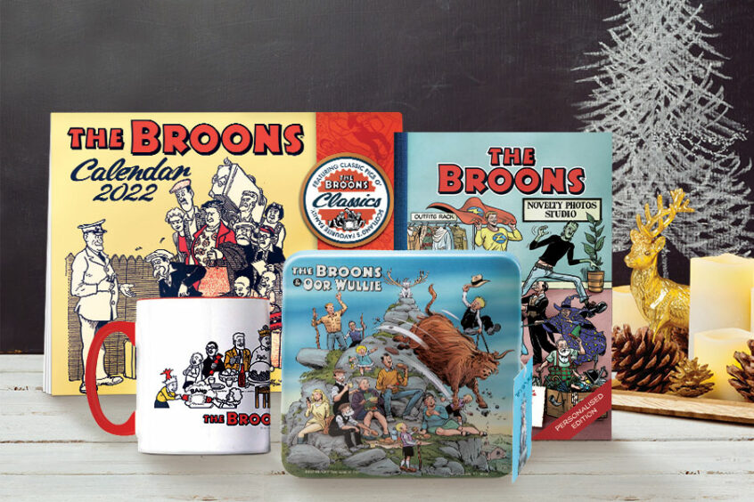 The Broons Christmas Pack