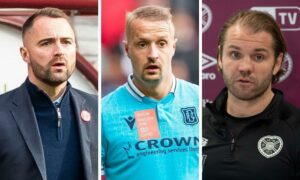 'It is stoking the fire – I didn't like it': Dundee boss James McPake takes issue with Robbie Neilson comments ahead of Tynecastle draw amid Leigh Griffiths chants