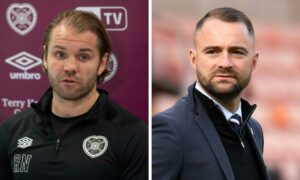 Hearts boss Robbie Neilson hits back at James McPake after Dundee manager's 'stoking the fire' accusation