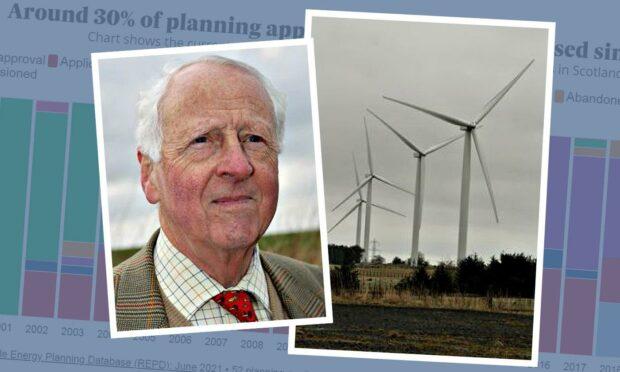 wind turbine campaigner Graham Lang