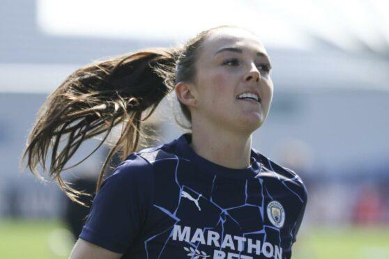Caroline Weir has scored another stunning solo goal.
