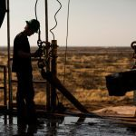 Oil holds gains near 1-week high as US drilling slows further