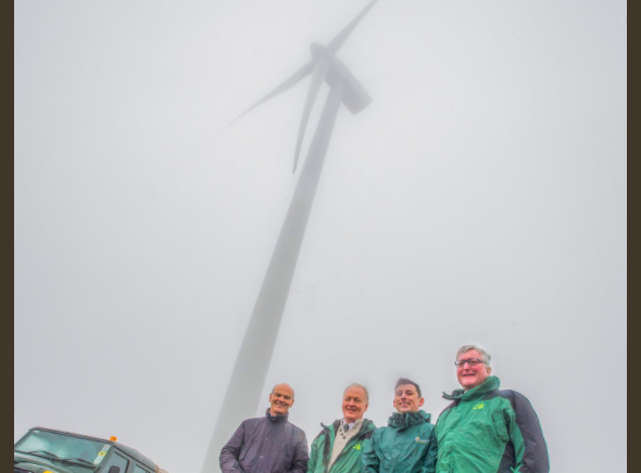 1GW of wind energy installed in Scotland's national forest