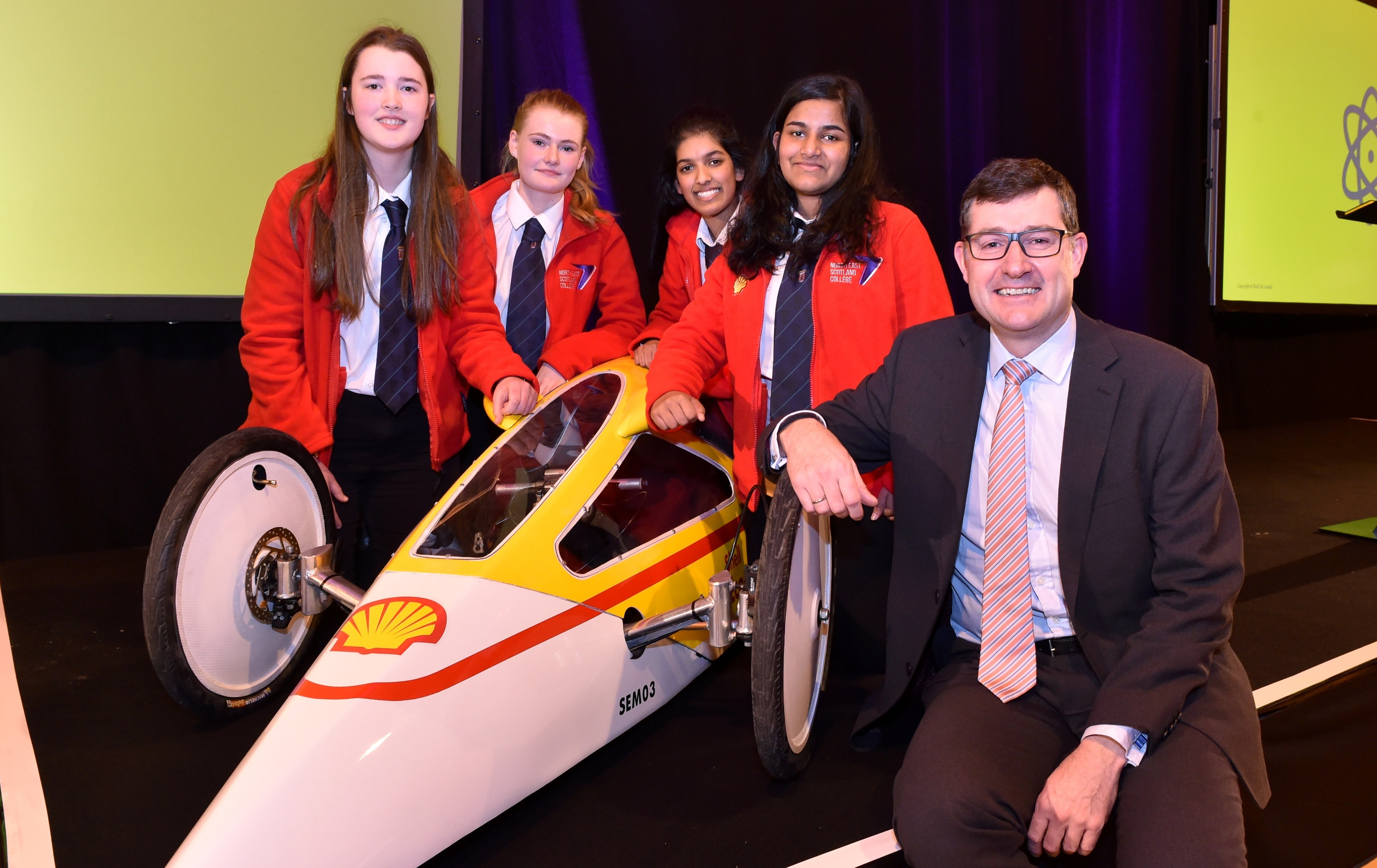 Shell looks to address gender imbalance at Aberdeen event