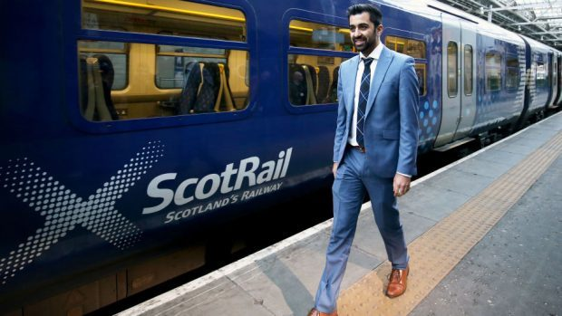 Network Rail responsible for 54% of ScotRail delays, says Humza Yousaf