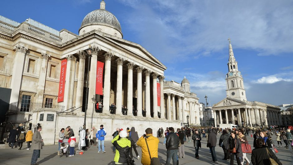 Man charged with damaging National Gallery masterpiece