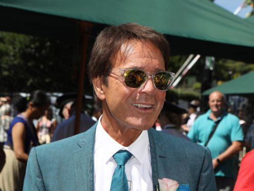 Sir Cliff Richard arrives on day one of the Wimbledon Championships (Philip Toscano/PA)