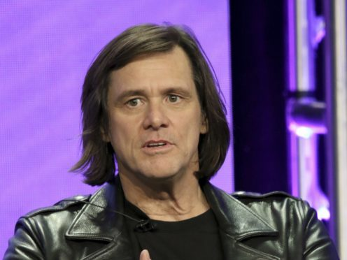 Jim Carrey says his cartoons are a civilised response to a nightmare (Photo by Willy Sanjuan/Invision/AP)