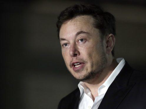 Elon Musk (AP Photo/Kiichiro Sato, File)