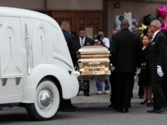 The funeral of Aretha Franklin is taking place in Detroit (Jeff Roberson/AP)
