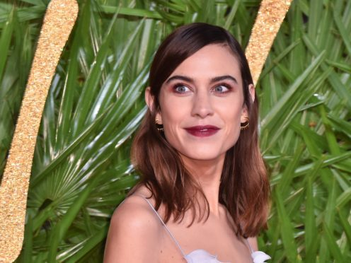 Alexa Chung has spoken of her concerns about the impact of Brexit on the UK's fashion industry (Matt Crossick/PA Wire)