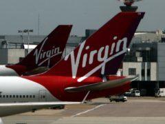 Virgin Atlantic planes (Steve Parsons/PA)