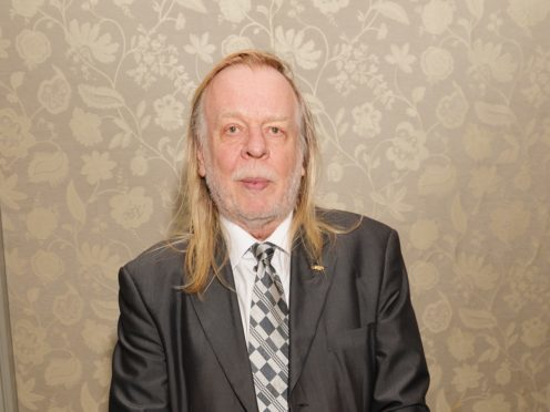 Rick Wakeman during the National Cat Awards ceremony (PA)