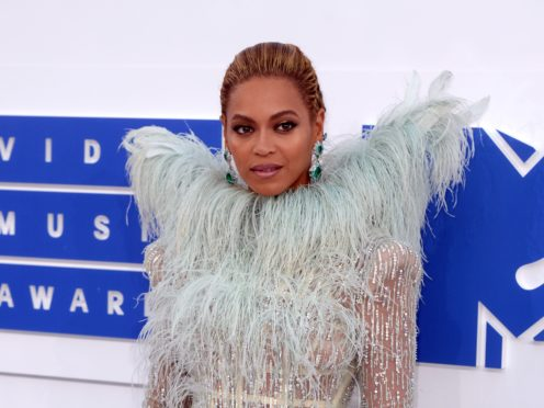 Beyonce channelled Toni Braxton as she dressed up for Halloween (PA Wire)